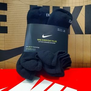Nike Everyday plus cotton cushioned no show